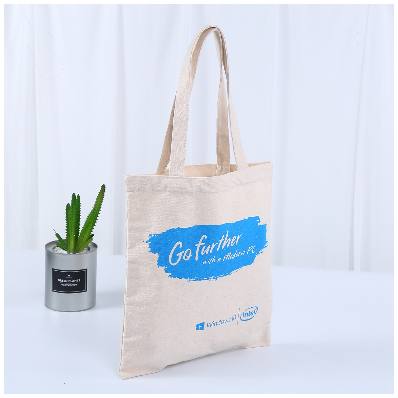 Intel Go Further Canvas bag